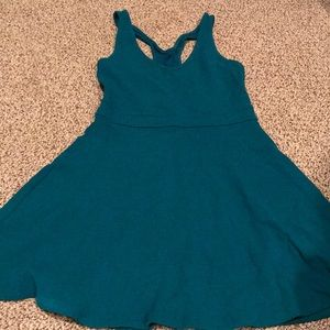 Sundress with back detail